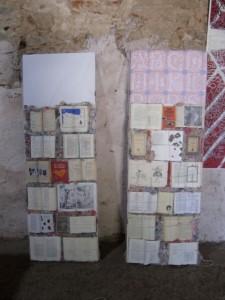 side panels, El Cuerpo de un Poema